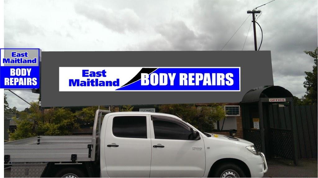 East Maitland Body Repairs | car repair | 19 Newcastle St, East Maitland NSW 2323, Australia | 0249335505 OR +61 2 4933 5505