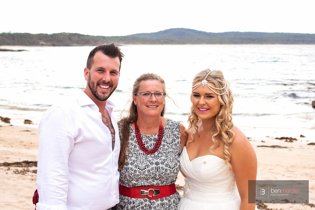 Carolyn Morey - Marriage Celebrant | point of interest | 38 Lakeside Dr, South Durras NSW 2536, Australia | 0406856331 OR +61 406 856 331