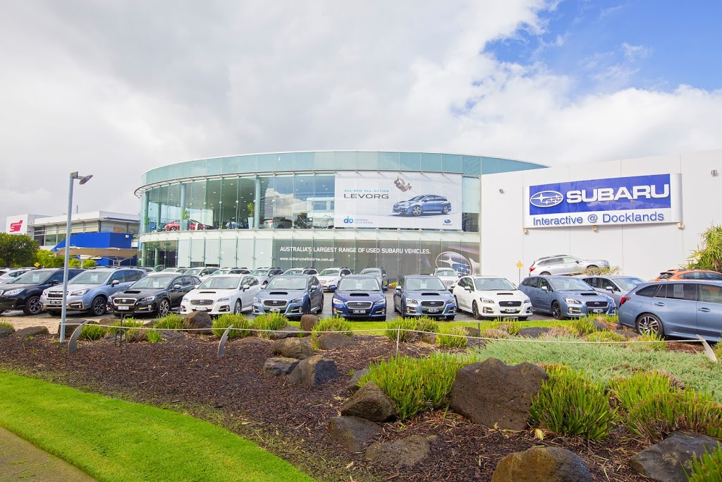 Subaru Docklands | car dealer | 99 Lorimer St, Docklands VIC 3008, Australia | 0390087471 OR +61 3 9008 7471