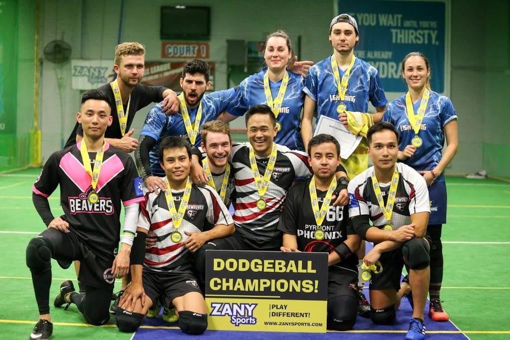 Zany Sports Dodgeball | gym | 20 Distribution Pl, Seven Hills NSW 2147, Australia | 0401537960 OR +61 401 537 960