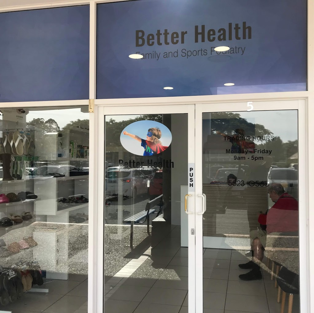 Better Health family and Sports Podiatry   doctor   Banora Shopping Village, shop 5/3 Leisure Dr, Banora Point NSW 2486, Australia   0755230566 OR +61 7 5523 0566