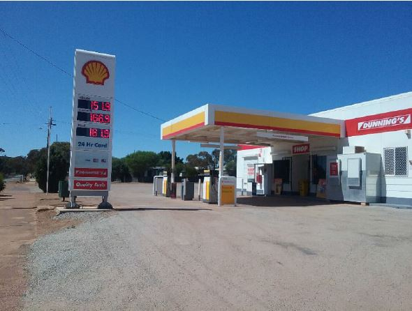Dunnings Goomalling - Gas Station