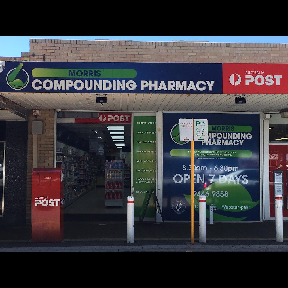 Morris Compounding Pharmacy | store | 12 A Morris Place, Innaloo WA 6018, Australia | 0894469858 OR +61 8 9446 9858