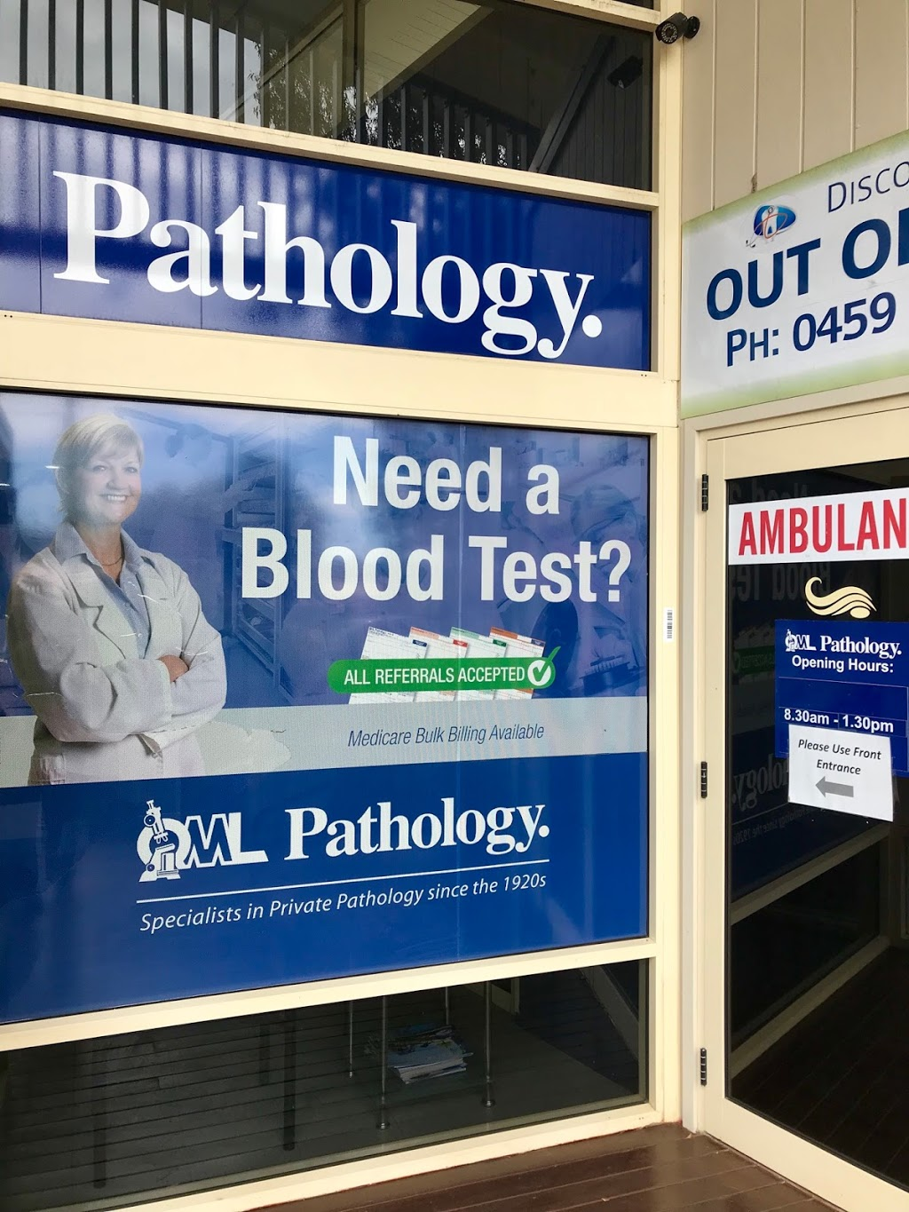 QML Pathology | doctor | Discovery Coast Medical Centre, 3, Captain Cook Dr, Agnes Water QLD 4677, Australia | 0749747845 OR +61 7 4974 7845