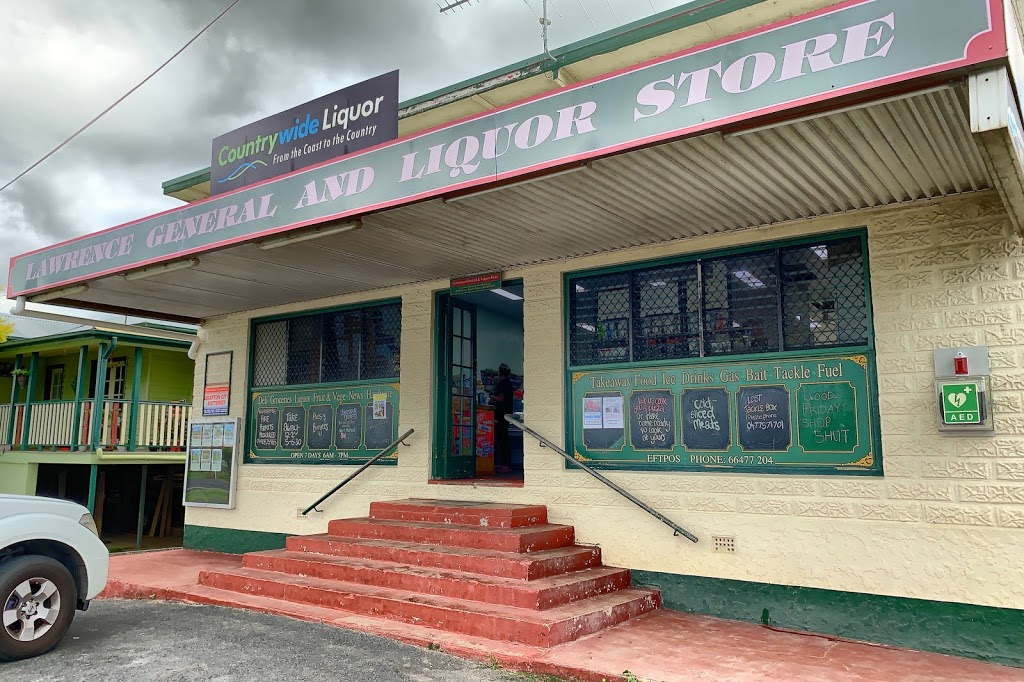 Lawrence General Store | gas station | 1 Richmond St, Lawrence NSW 2460, Australia | 0266477204 OR +61 2 6647 7204