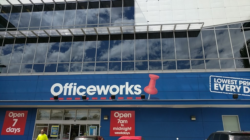 Officeworks North Ryde | electronics store | 37 Epping Rd, North Ryde NSW 2113, Australia | 0298789400 OR +61 2 9878 9400