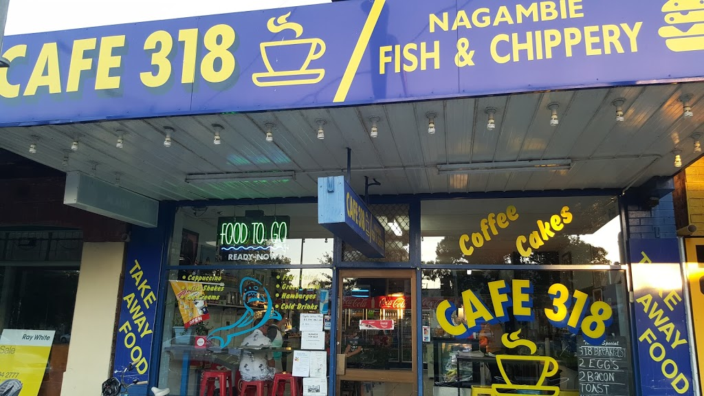 Cafe 318 / Nagambie Fish & Chippery | meal takeaway | 318 High St, Nagambie VIC 3608, Australia | 0357942211 OR +61 3 5794 2211