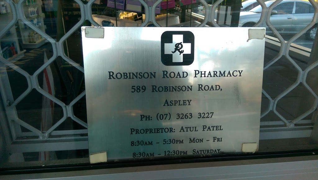 Robinson Road Day and Night Pharmacy | health | 1/589 Robinson Rd W, Aspley QLD 4034, Australia | 0732633227 OR +61 7 3263 3227