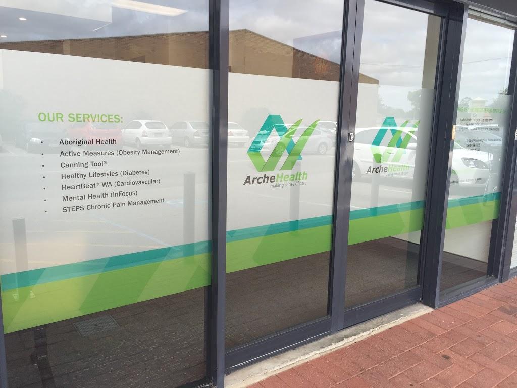 Arche Health Ltd | health | Bentley Plaza Shopping Centre, 4/1140 Albany Hwy, Perth WA 6102, Australia | 0894580505 OR +61 8 9458 0505