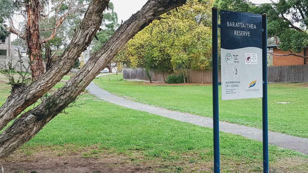 Baratta/Thea Reserve | park | 15 Thea Grove, Doncaster East VIC 3109, Australia