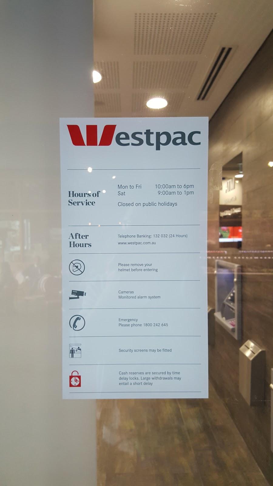 Westpac Branch | bank | 42/2, 2/4 Defries Ave, Zetland NSW 2017, Australia | 0283967444 OR +61 2 8396 7444