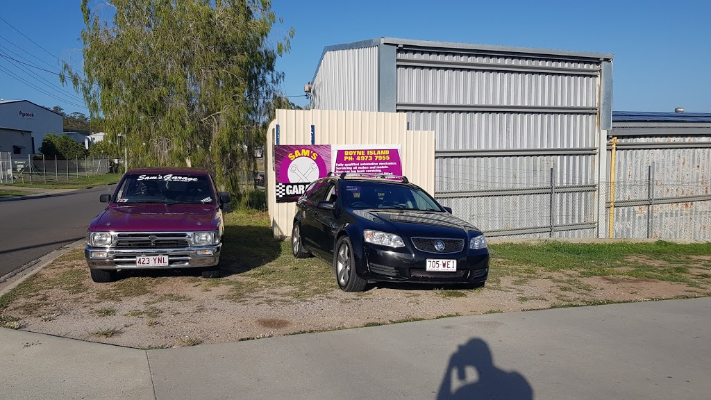 Sams Garage | car repair | 4 Dennis St, Boyne Island QLD 4680, Australia | 0749737955 OR +61 7 4973 7955
