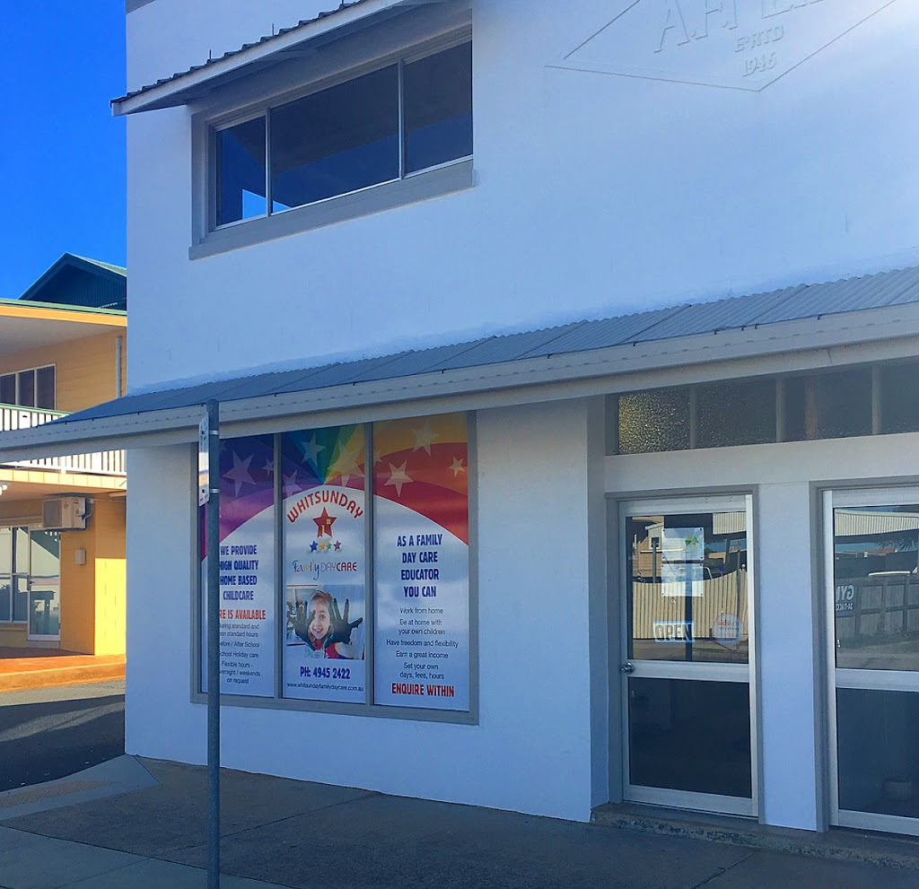 Whitsunday Shire Family Day Care | point of interest | 18 Chapman St, Proserpine QLD 4800, Australia | 0749452422 OR +61 7 4945 2422