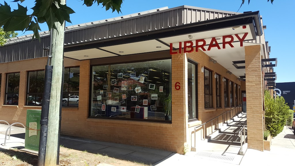Queanbeyan City Library | library | 6 Rutledge St, Queanbeyan NSW 2620, Australia | 0262856255 OR +61 2 6285 6255