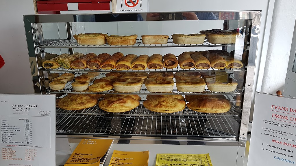 Evans Bakery   bakery   50 Lydiard St N, Ballarat Central VIC 3350, Australia