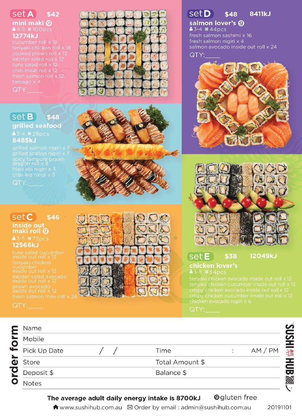 Sushi Hub Chirnside Park Restaurant 239 241 Maroondah Highway L01 K147 Chirnside Park Vic 3116 Australia