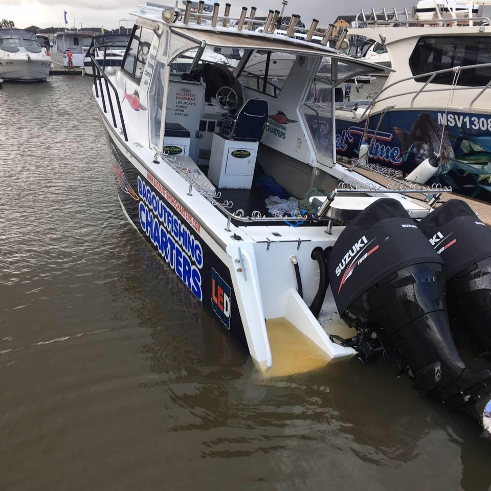 Matthew Hunt Fishing Charters | store | Patterson River Boat Ramp, Launching Way, Carrum VIC 3197, Australia | 0419760510 OR +61 419 760 510
