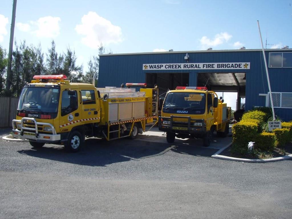 Wasp Creek Rural Fire Brigade | fire station | Colman Rd, Coomera QLD 4209, Australia | 0755803866 OR +61 7 5580 3866