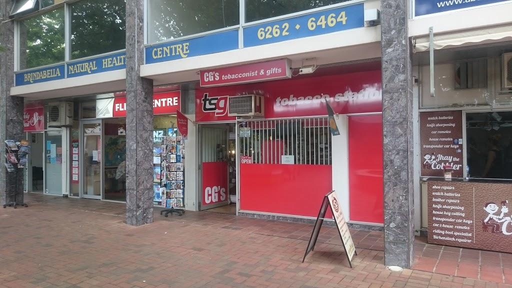 CGs Tobbaconist & Gifts | store | 48 Dickson Pl, Dickson ACT 2602, Australia