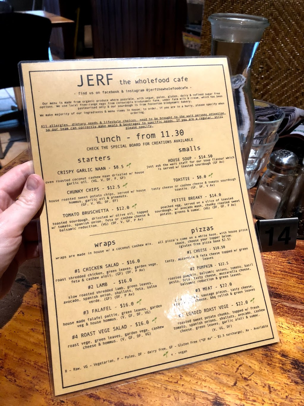 JERF the whole food cafe | cafe | 1/27 Belmore Rd, Lorn NSW 2320, Australia | 0249348224 OR +61 2 4934 8224