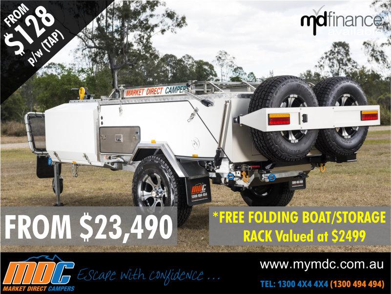 MDC Camper Trailers & Offroad Caravans (Brisbane) - Car
