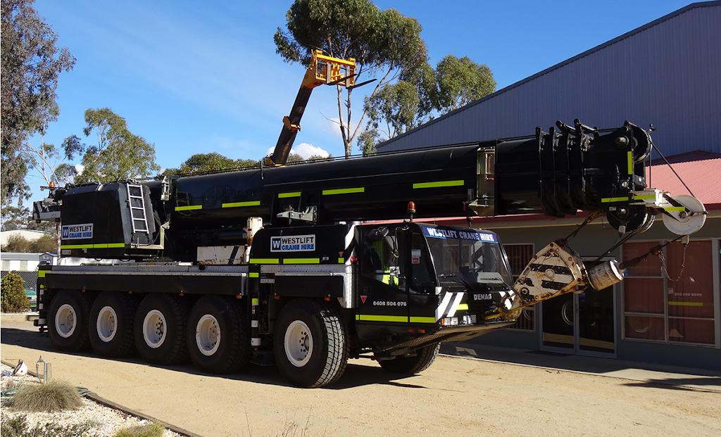West Cranes & Access Hire | store | 50 Ararat Rd, Stawell VIC 3380, Australia | 0408504076 OR +61 408 504 076