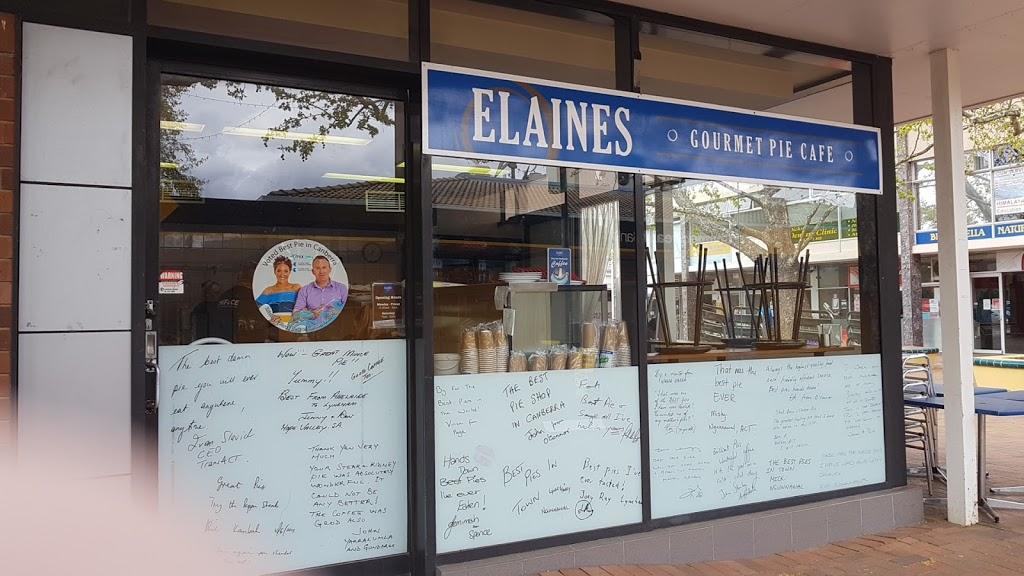 Elaines Gourmet Pie Cafe | bakery | Dickson ACT 2602, Australia