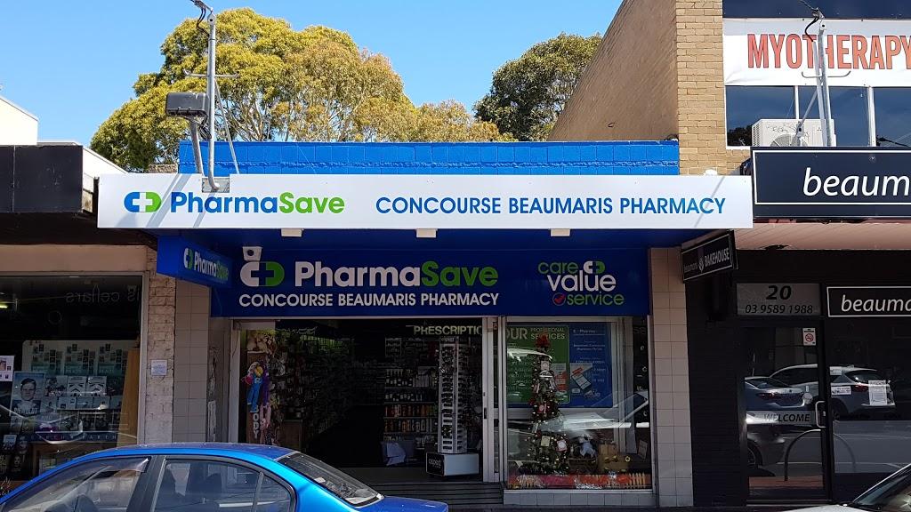 Pharmasave Concourse Beaumaris Pharmacy   pharmacy   22 S Concourse, Beaumaris VIC 3193, Australia