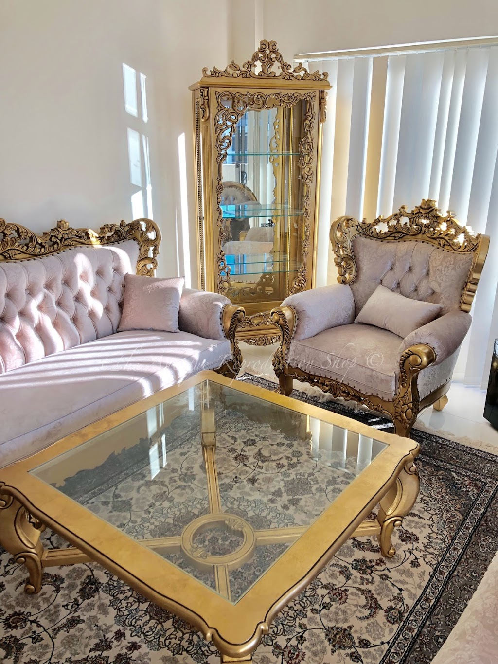 The Antique Reproduction Shop - Luxury Antique Furniture Store | furniture store | 20 66/74 Brice Ave, Mooroolbark VIC 3138, Australia | 0397369490 OR +61 3 9736 9490