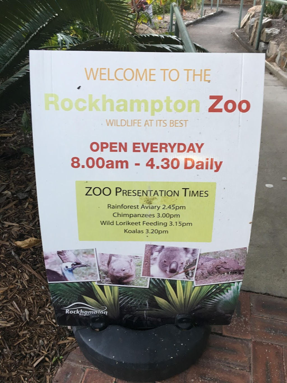 Rockhampton Zoo | museum | Ann St, West Rockhampton QLD 4700, Australia | 0749329000 OR +61 7 4932 9000