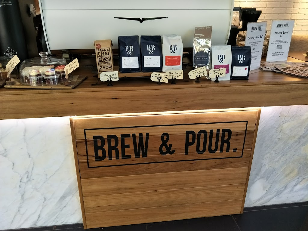 Brew & Pour | cafe | 11 Talavera Rd, Macquarie Park NSW 2113, Australia | 0298873198 OR +61 2 9887 3198