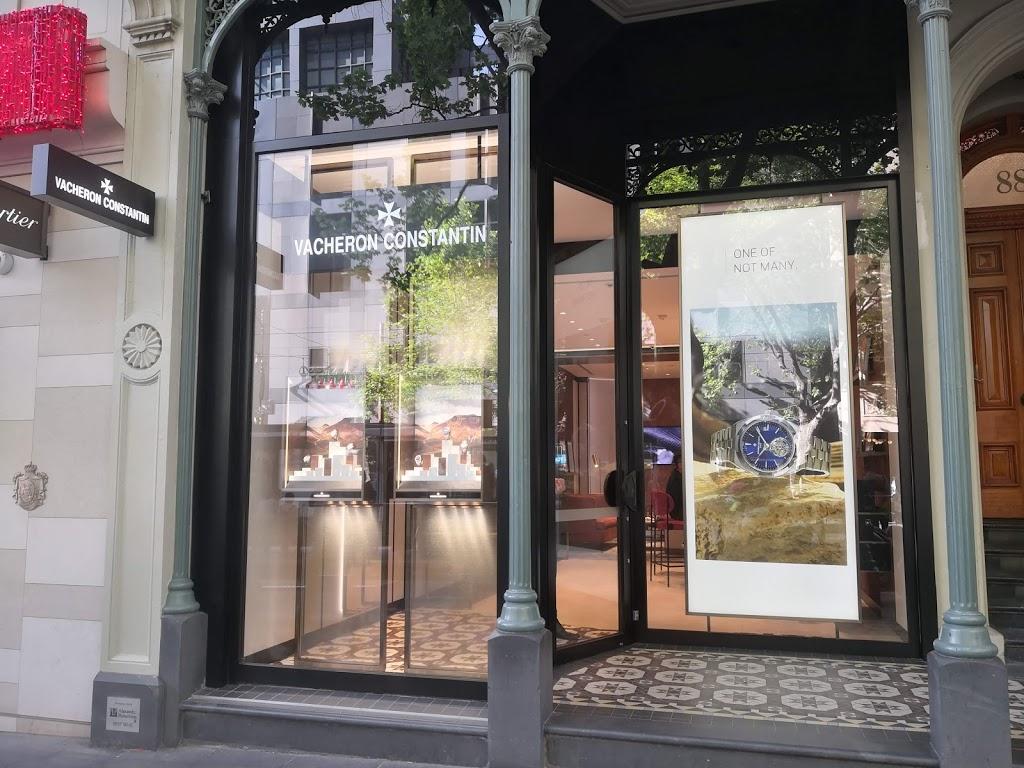 Vacheron Constantin   store   88 Collins St, Melbourne VIC 3000, Australia   0392287100 OR +61 3 9228 7100