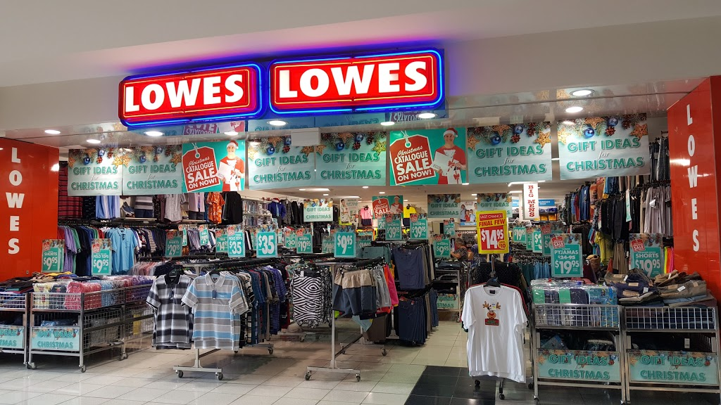 Lowes | clothing store | 5 Toormina Road Toormina Gardens Shopping Centre, Shop SP026, Toormina NSW 2452, Australia | 0266581842 OR +61 2 6658 1842