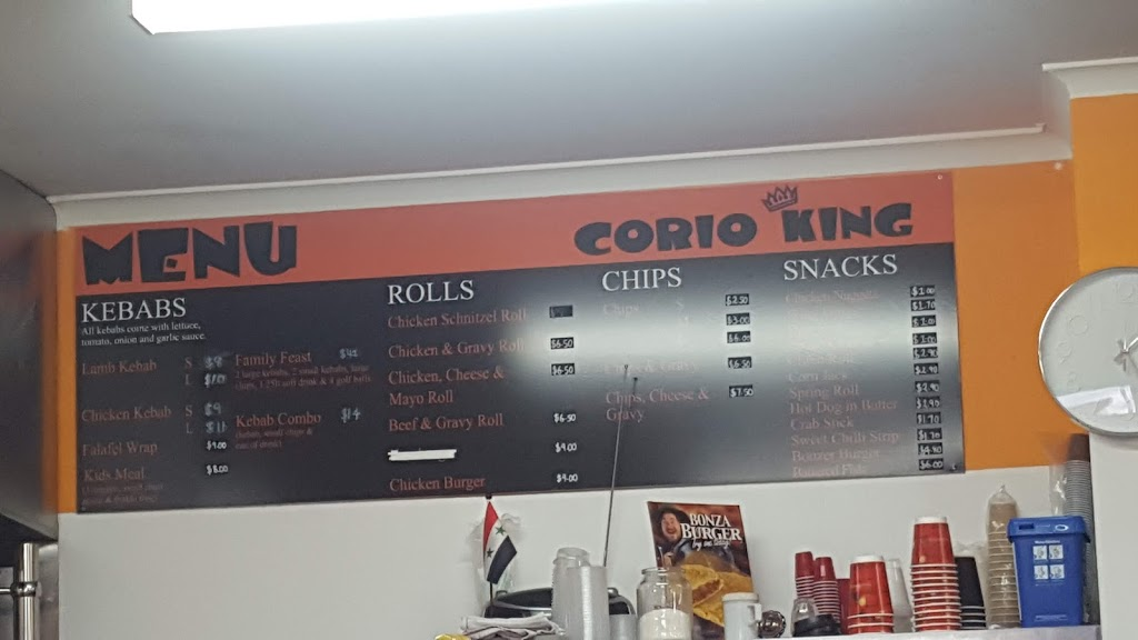Corio King   meal takeaway   133 Purnell Rd, Corio VIC 3214, Australia   0352755184 OR +61 3 5275 5184