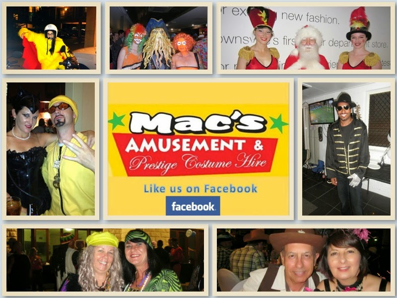 Macs Amusements & Prestige Costume Hire | hair care | 41 Harold St, West End QLD 4810, Australia | 0747215566 OR +61 7 4721 5566