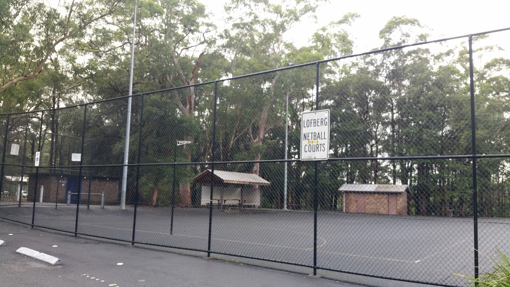 Lofberg Rd Netball Courts | park | 4 Grayling Rd, West Pymble NSW 2073, Australia