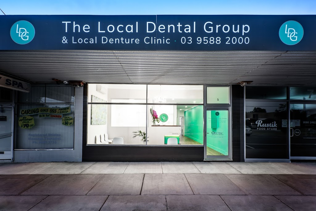 The Local Dental Group and Local Denture Clinic | dentist | No. 5, Chandler St, Parkdale VIC 3195, Australia | 0395882000 OR +61 3 9588 2000