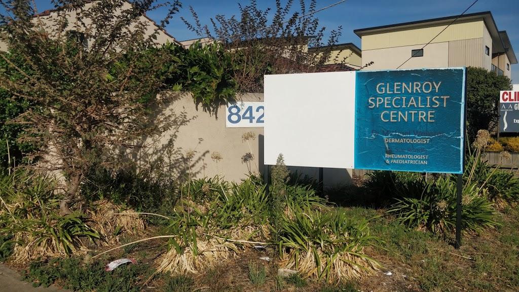 Glenroy Specialist Centre - Webster Michael RDR | doctor | 842 Pascoe Vale Rd, Glenroy VIC 3046, Australia | 0393002861 OR +61 3 9300 2861