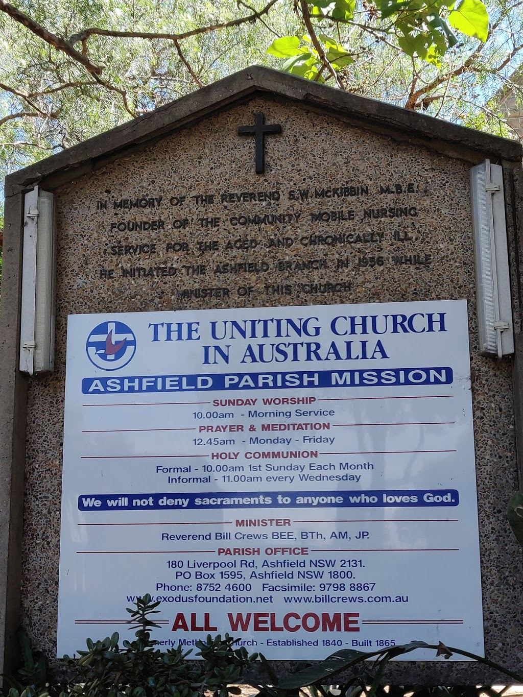 Uniting Church in Australia | church | 180 Liverpool Rd, Ashfield NSW 2131, Australia | 0287524600 OR +61 2 8752 4600