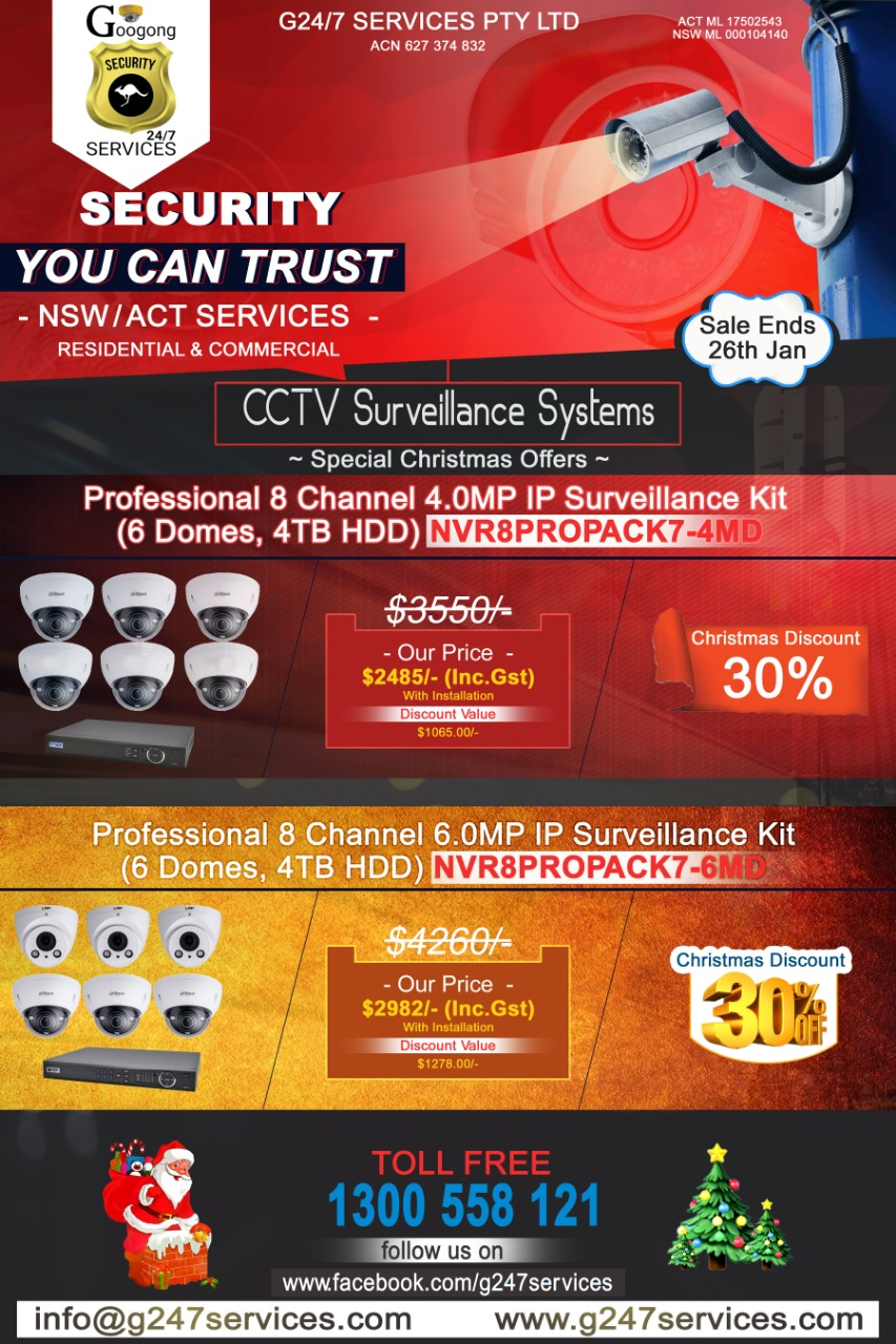 G 24/7 SECURITY SERVICES NSW/ACT CANBERRA | electronics store | 58 Caragh Ave, Googong NSW 2620, Australia | 1300558121 OR +61 1300 558 121