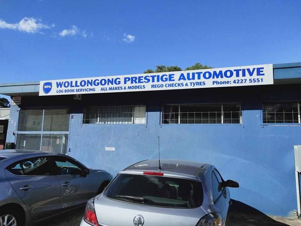WOLLONGONG PRESTIGE AUTOMOTIVE | car repair | 257 Keira St, Wollongong NSW 2500, Australia | 0242275551 OR +61 2 4227 5551