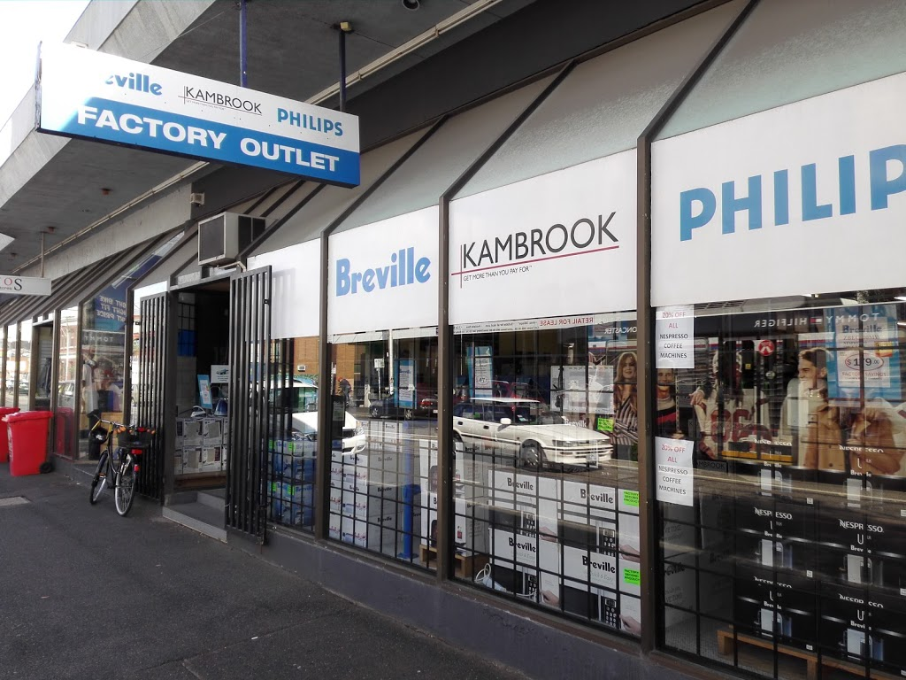 Breville Kambrook Philips Factory Outlet   electronics store   427 Smith St, Fitzroy VIC 3065, Australia   0394177126 OR +61 3 9417 7126