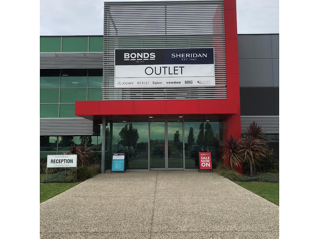 Bonds Outlet Truganina | clothing store | Distribution Centre, 31-39 Permas Way, Truganina VIC 3029, Australia | 0383489469 OR +61 3 8348 9469