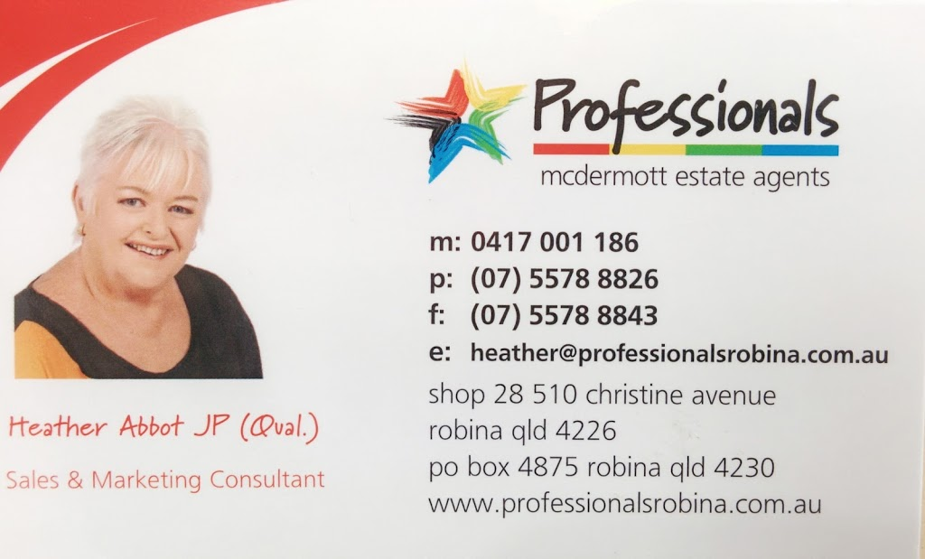 Heather Abbot Professional Property Specialist - Real Estate Age | real estate agency | Easy T Centre, 28/510 Christine Ave, Robina QLD 4226, Australia | 0417001186 OR +61 417 001 186