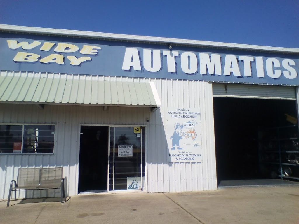 Wide Bay Automatics | car repair | 1/79 Old Maryborough Rd, Pialba QLD 4655, Australia | 0741247800 OR +61 7 4124 7800