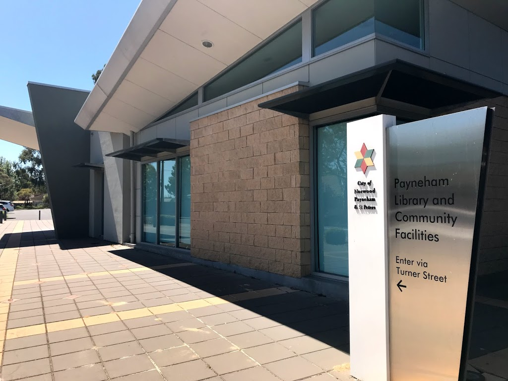 Payneham Library | library | 2 Turner St, Felixstow SA 5070, Australia | 0883360333 OR +61 8 8336 0333