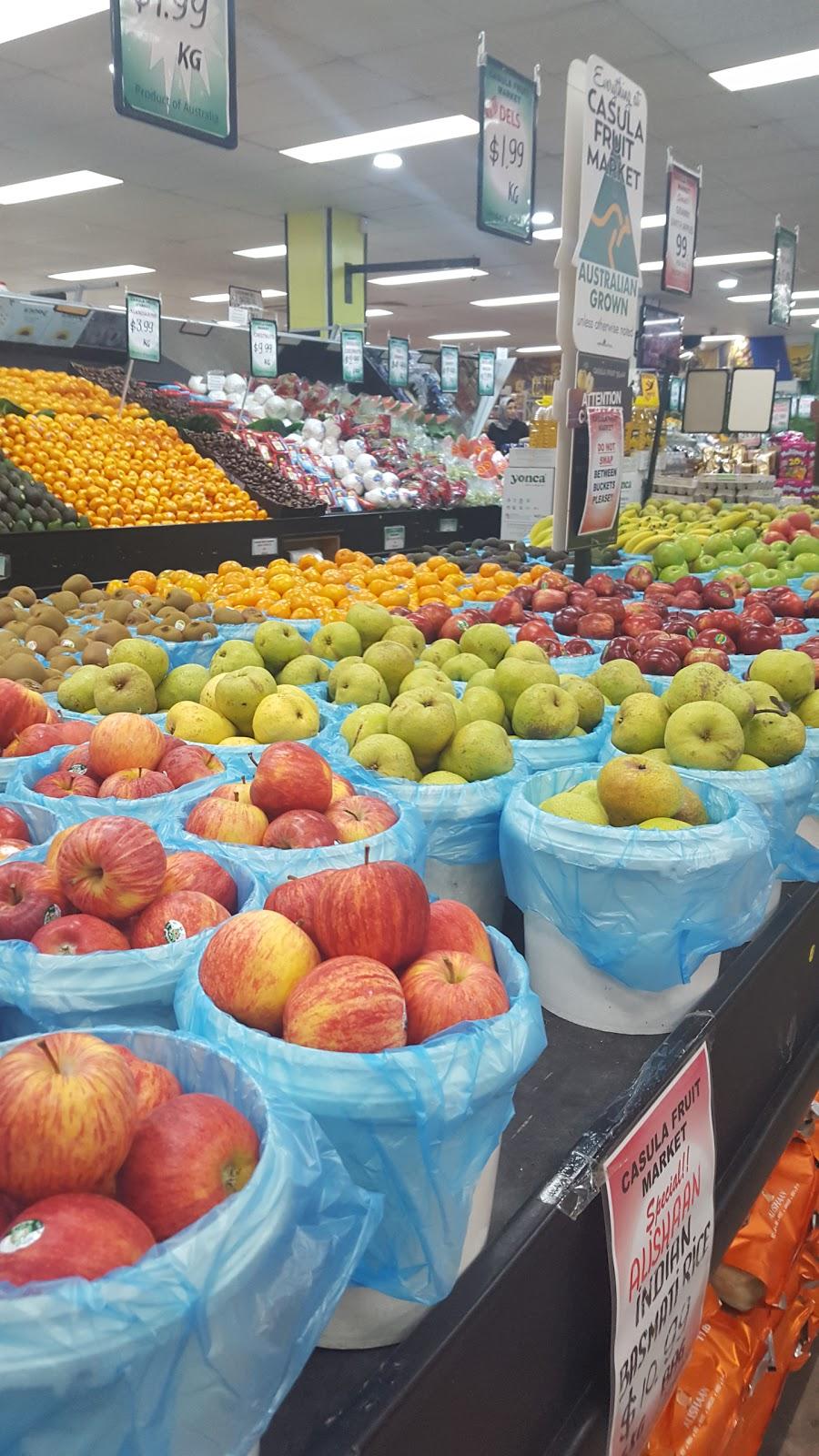 Casula Fruit Market | store | 11/493-509 Hume Hwy, Casula NSW 2170, Australia | 0296010005 OR +61 2 9601 0005