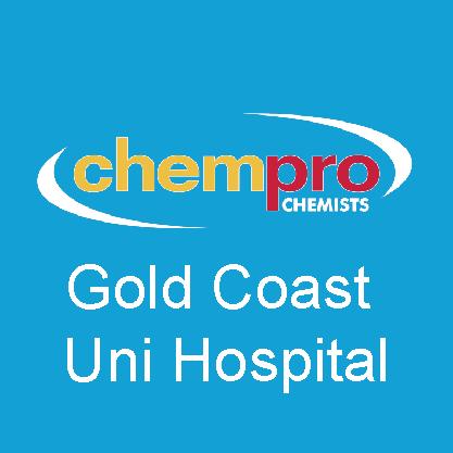 Gold Coast Uni Hospital Chempro Chemist   pharmacy   1 Hospital Blvd Retail Suite 1 Gold Coast University Hospital, Southport QLD 4215, Australia   0755631669 OR +61 7 5563 1669