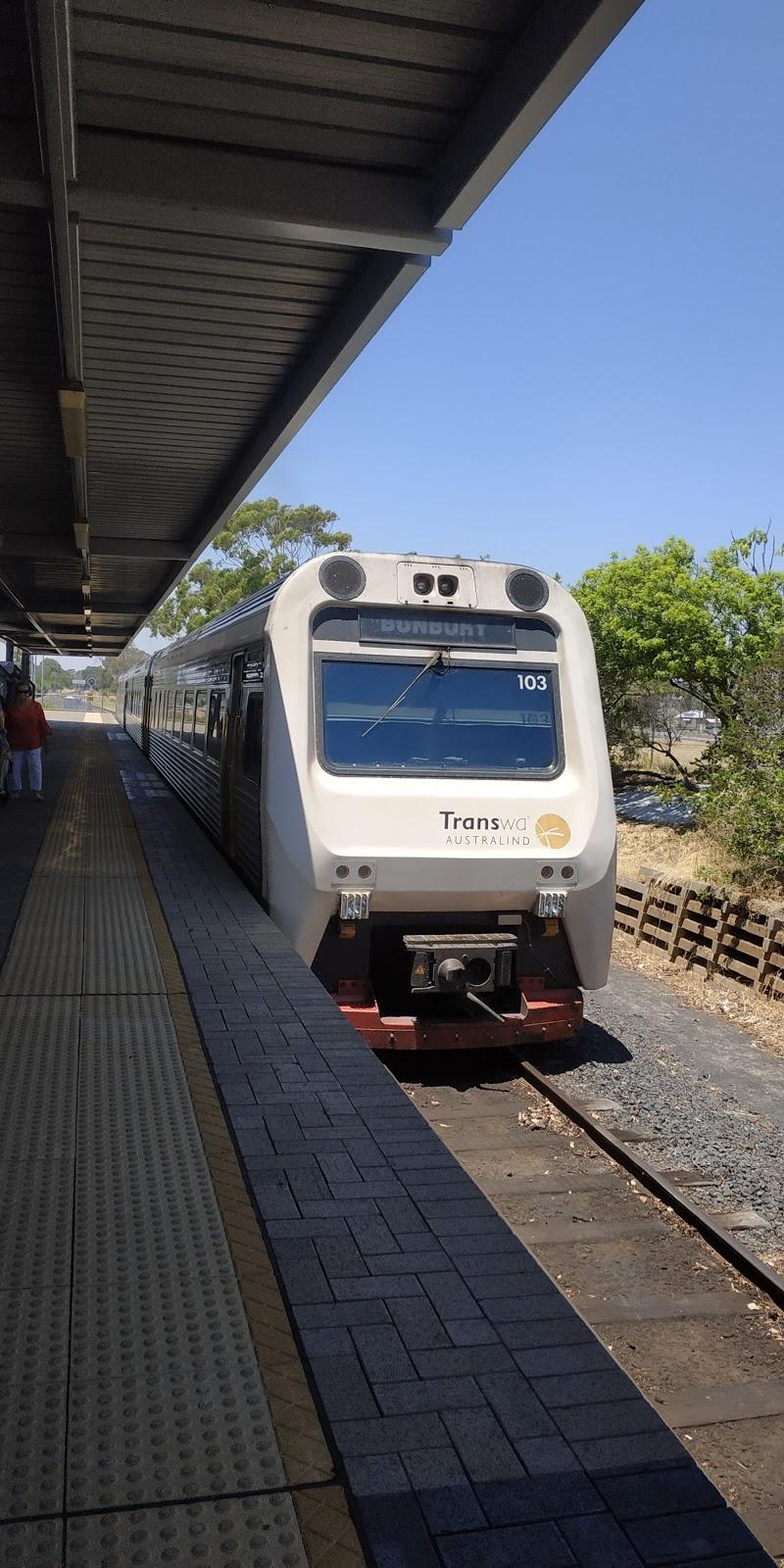Train Station Car Park | parking | 4 Picton Rd, East Bunbury WA 6230, Australia