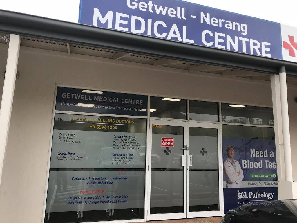 Medical Center Bulk Bill Getwell Nerang | health | 9/1 Station St, Nerang QLD 4211, Australia | 0755961260 OR +61 7 5596 1260
